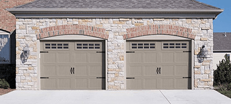 Our garage doors are perfect for your carriage house.