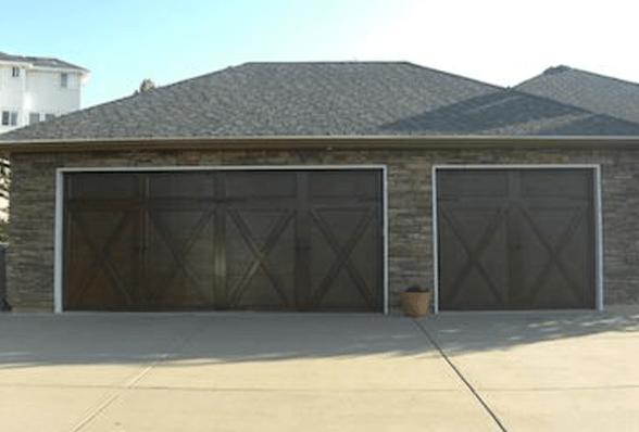 Garage door after picture Draper, UT