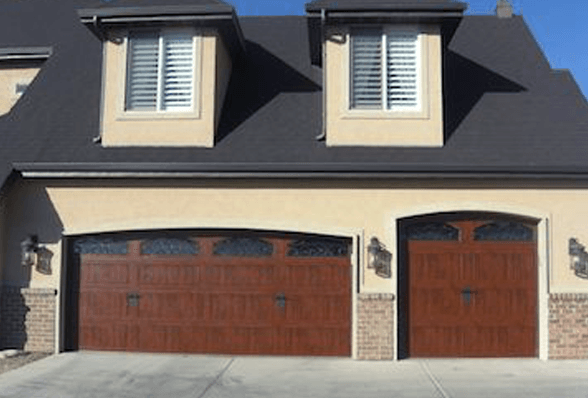 Residential garage door after photo, South Jordan, UT