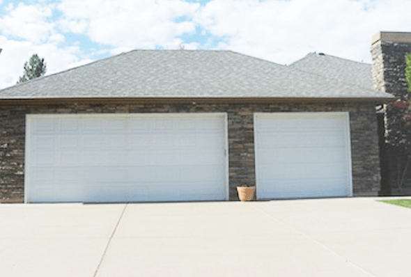 Before image residential garage door company