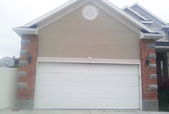 Your garage door will look better than ever with us.