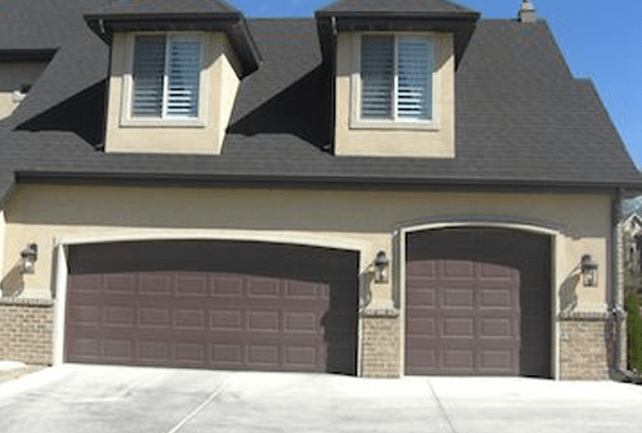 Before picture residential garage door, South Jordan, UT