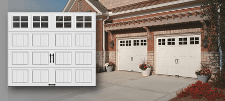 Peruse our selection of garage doors.