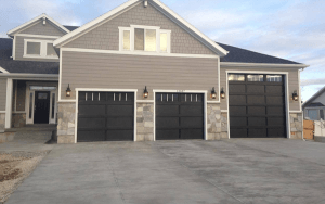 Residential and commercial garage door installed by All Star Garage Doors Inc.